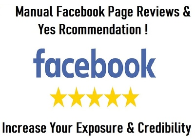 50 Five-star Facebook Rating/Reviews (Uk or USA)