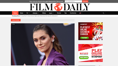 Guest post on filmdaily authority site Da 56 Dr 69 Traffic 943k