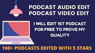 Edit your podcast in highest quality