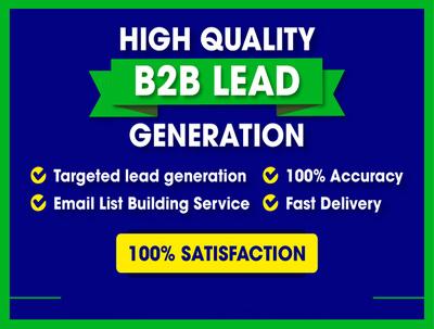 Deliver 100 Targeted Leads from LinkedIn Sales Navigator