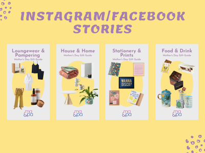 Design 10 charming instagram stories or posts