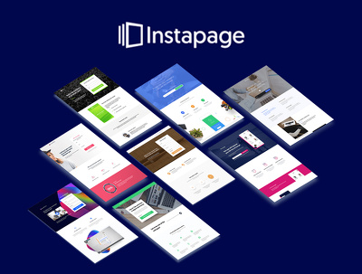 Design professional high converting instapage landing page