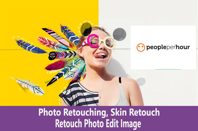 Photo retouching, skin retouch or photo edit image in 2 hours