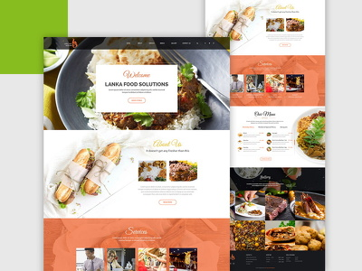 Design a website homepage / landing page & provide you PSD File