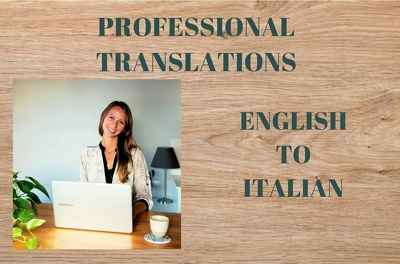 Translate 500 words from Italian to English