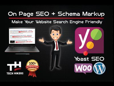 Optimize your WordPress with Premium Yoast SEO or Rank math SEO