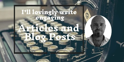 Write an SEO focused blog to drive traffic to your website