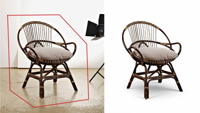 Do 20 Image cutout and shadow making with professional quality