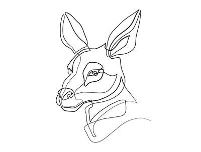 Create a continuous line art  drawing for you