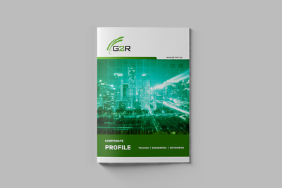 Design your 1-15 page company brochure