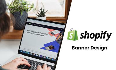 Professional Banner Design for Shopify