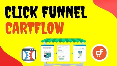 Create click funnel (sales funnel) landing page