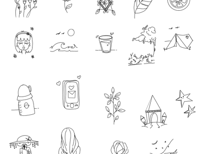 Do doodle art/pattern/design