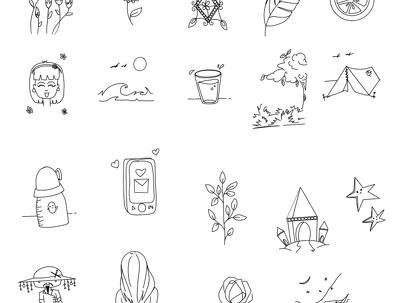 Do doodle art/pattern/design