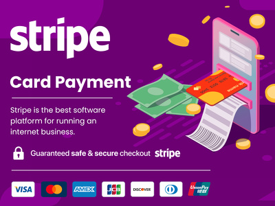 An secure stripe payment gateway in your website
