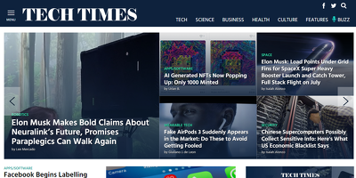 Able to get Published Content on Techtimes.com Dofollow DA-83