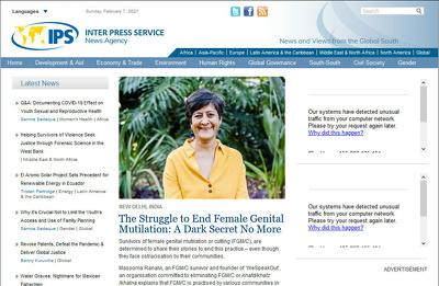 Publish A Guest Post On Ipsnews. net DA77 PA62, Dofollow
