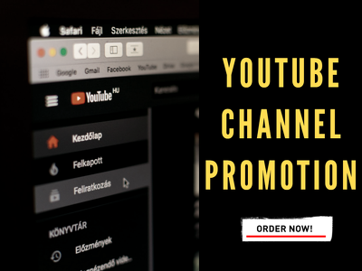 Do organic promotion of your YouTube channel to grow audience