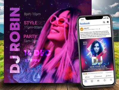 Design attractive social media design, post, banner ad