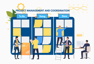 Project Coordination. Outsource Operations. Quality Control.