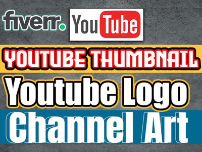 Design youtube thumbnail or any social media banner