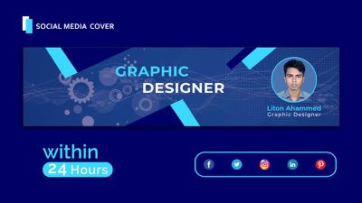 I will create unique social media design in 24 hours