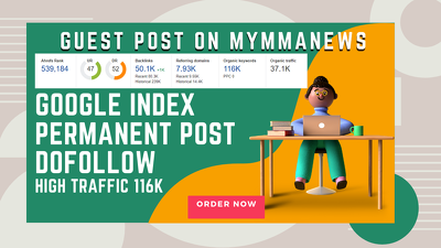 Do Guest Post on Mymmanews DR 52 Traffic 40k