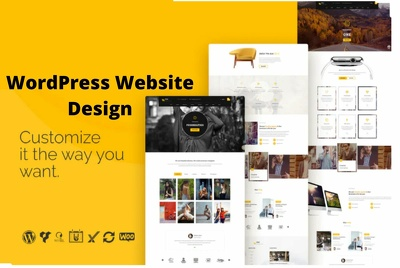 I will redesign and customization on your WordPress website
