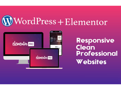 Design professional Mobile and SEO friendly WordPress website