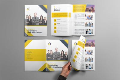 Design professional brochure, booklet, proposal, bifold