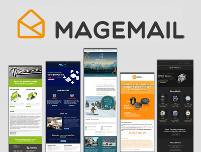 Develop responsive magemail email template or newsletter
