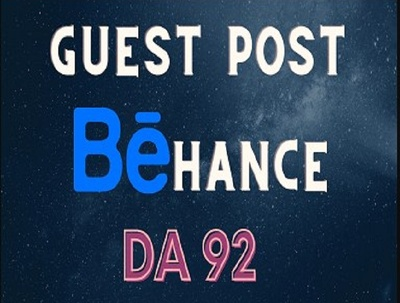 Write and Publish High Quality Guest Post On Behance DA 92