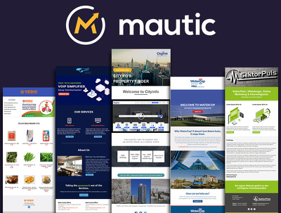 Create  responsive mautic email template or newsletter