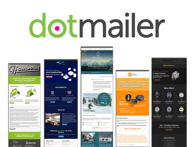 Build responsive dotmailer email template or newsletter