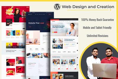 Designing & Developing Website Landing Page