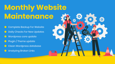 Offering Website Optimization, Maintenance Care Plans & on-page