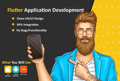Develop a great android and iOS application