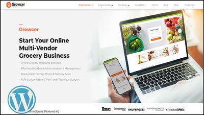 Make a multivendor ecommerce website using WordPress