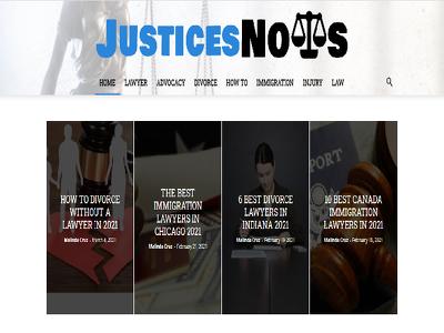 Guest Post on LAW Lawyers website - DA57- Dofollow