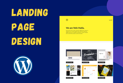 Create WordPress landing page or WordPress website with Elemento