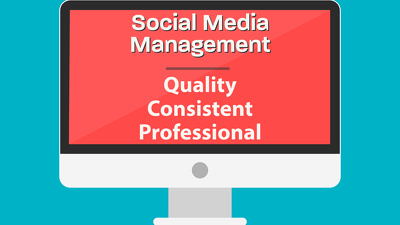 Professionally Manage Facebook, Instagram, Twitter for Growth