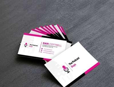 Design business card in 1 hr