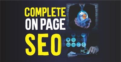 Do complete wordpress on page SEO using yoast SEO plugin