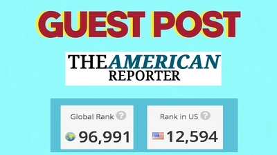 Guest Post on google news approved - theamericanreporter com