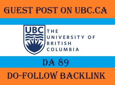Provide guest post on ubc ca with dofollow link