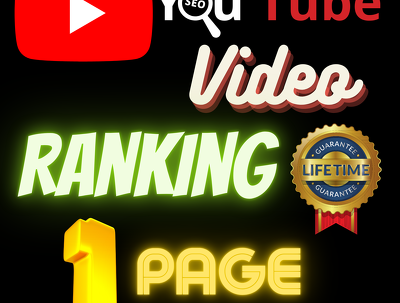 Backlink for YouTube video rankings into 1st page