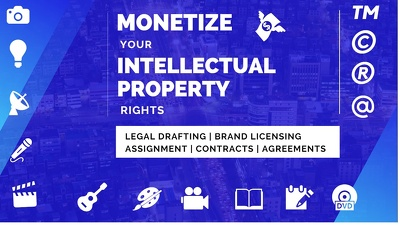 Legal Drafting for your Intellectual Property starting at $40