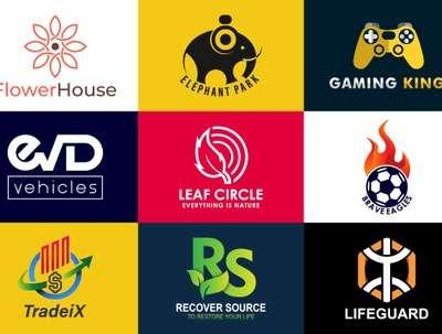 Design a minimalist business logo, sticker, badge, label, patch