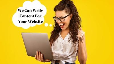 I Can Write Your Website Content - SEO Copywriter