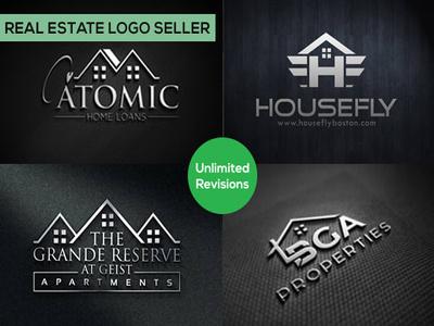 Design real estate logo for your business